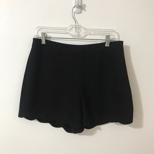 CeCe Scalloped Shorts